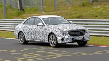 Mercedes E-Class 2016 spies front side