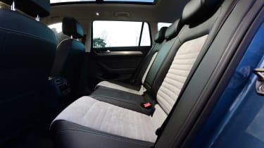Volkswagen Passat Estate - rear seats