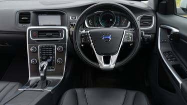 Volvo's trademark floating dash still looks good.