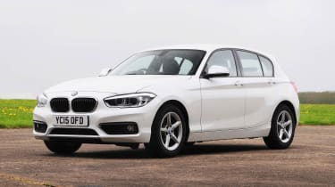 BMW 1 Series - front static