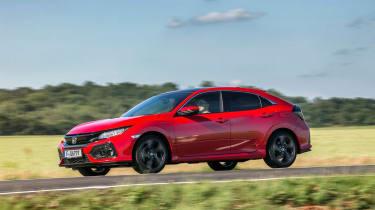 Honda Civic 1.6-litre diesel - side action
