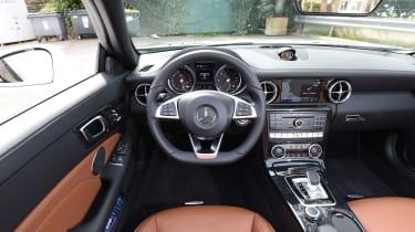 Mercedes SLC roadster 2016 - interior