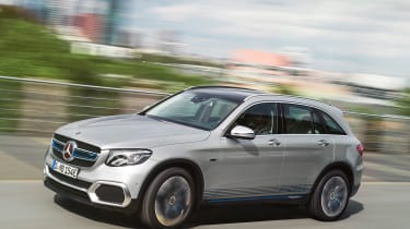Mercedes GLC F-Cell - front