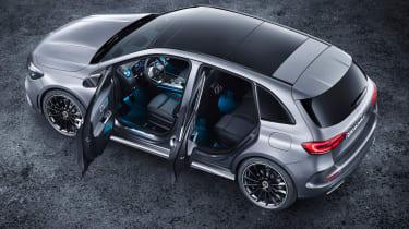 Mercedes B-Class - studio doors open