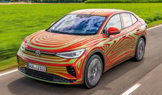 Volkswagen ID.5 GTX prototype - front