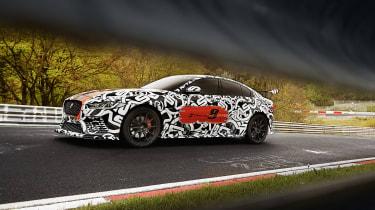 Jaguar XE SV Project8 - side