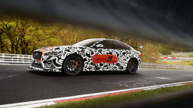 Jaguar XE SV Project8 - side