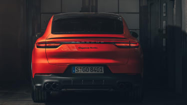 Porsche Cayenne Coupe - rear static