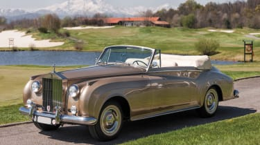 An exclusive classic car auction wouldn't be complete without a Rolls-Royce with an incredibly lengthy name.