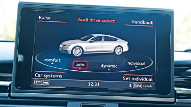Audi RS7 Performance - drive mode