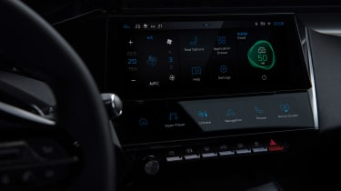 Peugeot 308 - screen