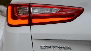 Kia Optima GT - Optima badge