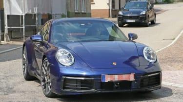 Next generation Porsche 911 front