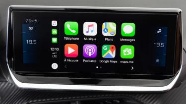 Peugeot 208 - Apple CarPlay