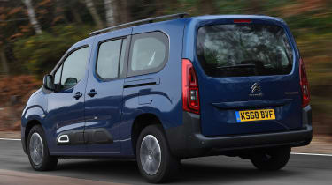 citroen berlingo xl tracking rear
