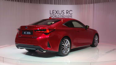 Lexus RC - Paris - Rear