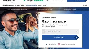 Platinum GAP insurance
