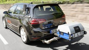 Golf emissions test