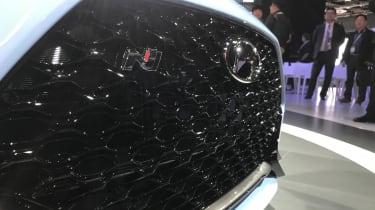 New Hyundai Veloster N - Detroit grille