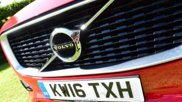 Volvo XC90 long-term test - grille