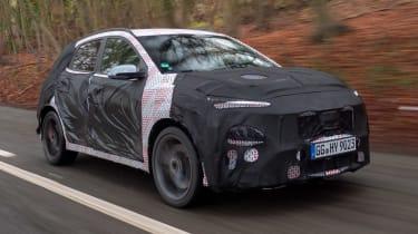 Hyundai Kona N prototype - front