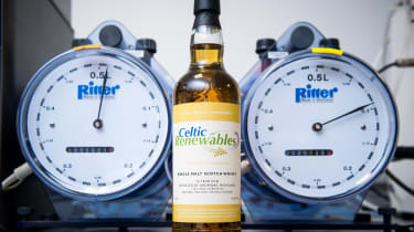 Whisky fuel feature - whisky gauges