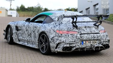 Mercedes AMG GT R Black Series - rear 3/4 tracking spy