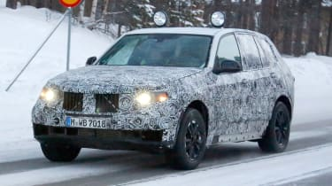 BMW X5 2017  front side