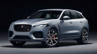 Jaguar F-Pace SVR - front studio
