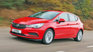 Vauxhall Astra - front action