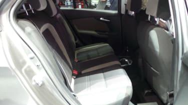 Fiat Tipo - Geneva show rear seats