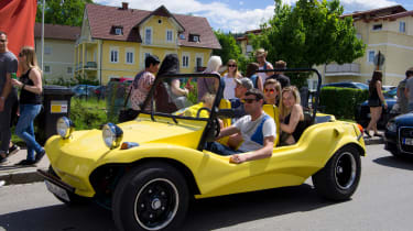 VW Beetle Beach buggy