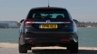 Used Vauxhall Insignia - full rear