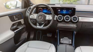 Mercedes EQB - dash
