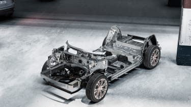 Lynk and Co SUV concept hybrid chassis