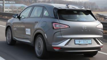 Hyundai NEXO rear grey