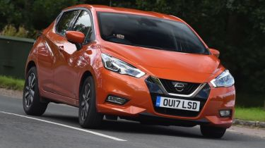 Best first cars for new drivers - Nissan Micra