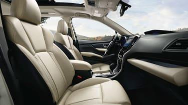 Subaru Ascent - front seats