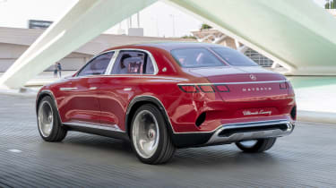 Vision Mercedes-Maybach Ultimate Luxury concept - rear