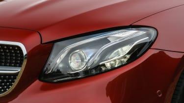 Mercedes E 400 d  Coupe - headlight