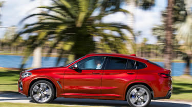 BMW X4 - profile