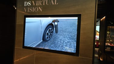 DS Westfield store - virtual reality screen