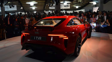 TVR Griffith reveal - rear dark