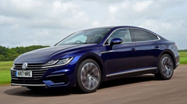 Volkswagen Arteon review - road