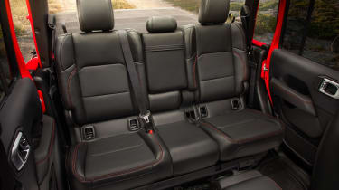 Jeep Gladiator - rear seats
