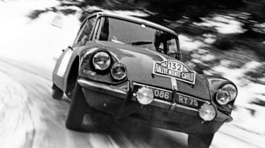 You'd expect style, sophistication and space from the DS, but surely not an impressive motorsport pedigree? Well, you'd be wrong, because the big Citroen notched up two Monte Carlo rally victories, plus a string of successes in long-di