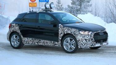 Audi A1 Allroad - spyshot 4
