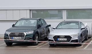 New Audi Q5 e-tron and A7 e-tron