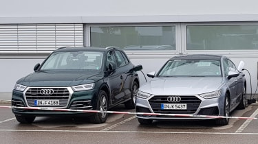 New Audi Q5 e-tron and A7 e-tron