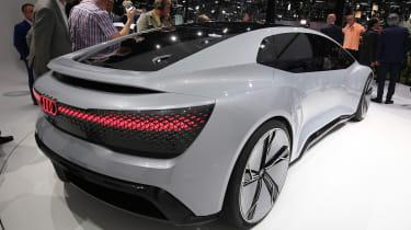 Audi Aicon concept - Frankfurt show rear